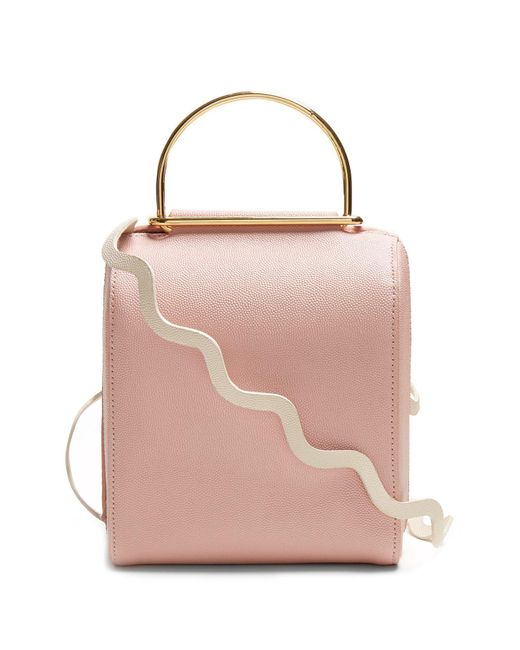 Roksanda - Multicolor Besa Top Handle Leather Shoulder Bag - Lyst
