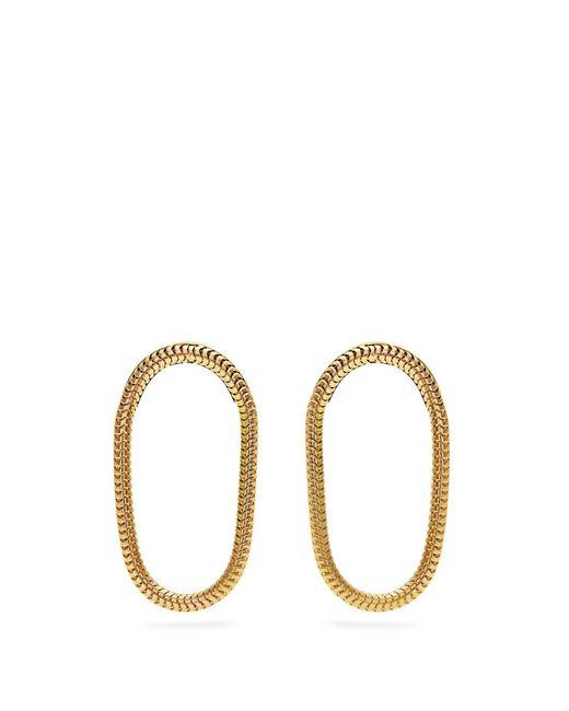 Fernando Jorge - Metallic Yellow Gold Parallel Earrings - Lyst