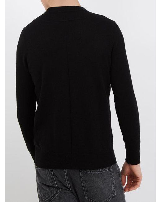 Logo-patch cashmere sweater Givenchy Outlet New Styles Cheap Sale Official hsVpwUwLo