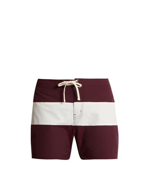 Saturdays NYC - Purple Short de bain colour-block Grant for Men - Lyst