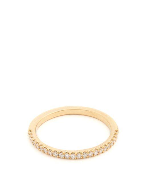 Marc Alary - Metallic Diamond & Yellow-gold Ring - Lyst