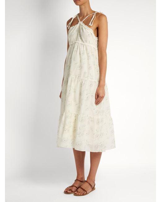 Romance In The Wind cotton-blend dress Athena Procopiou Roda49eH