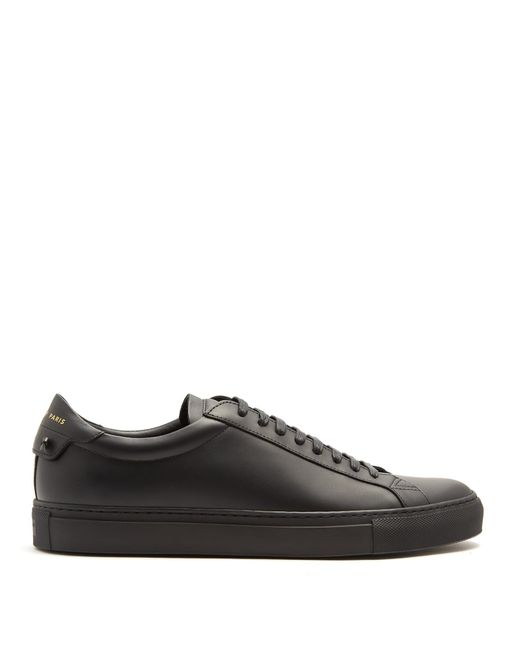 Givenchy | Black Urban Street Low-top Leather Trainers for Men | Lyst