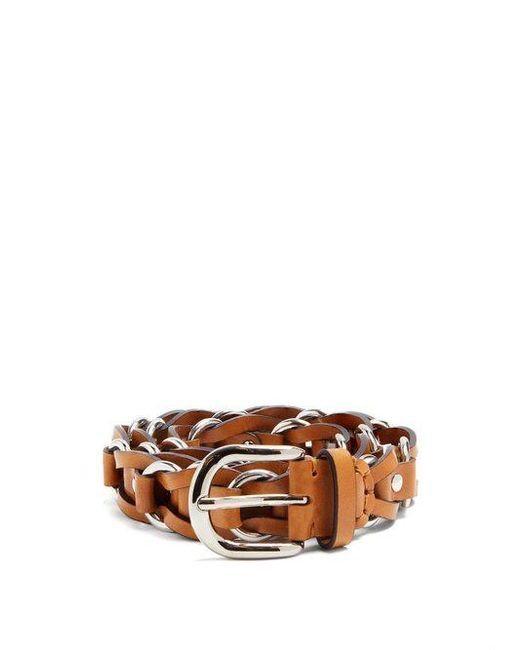 Isabel Marant - Multicolor - Links Leather Belt - Womens - Brown - Lyst