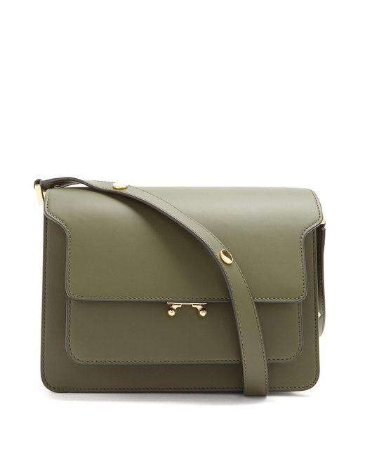 Marni - Multicolor Trunk Medium Leather Shoulder Bag - Lyst