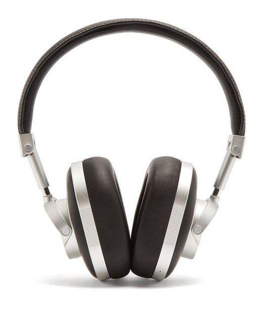 73c20aac316 Master & Dynamic - Black X 0.95 Mw60 Leather On-ear Wireless Headphones -  Lyst