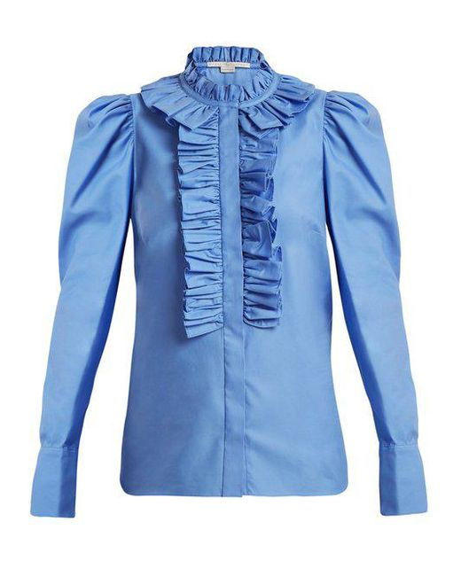 Shaylee ruffle-trimmed blouse Stella McCartney Buy Cheap Footlocker Finishline Big Sale For Sale Cheap Sale 2018 Cheap Order Buy Cheap From China kD8Z3xpsTd