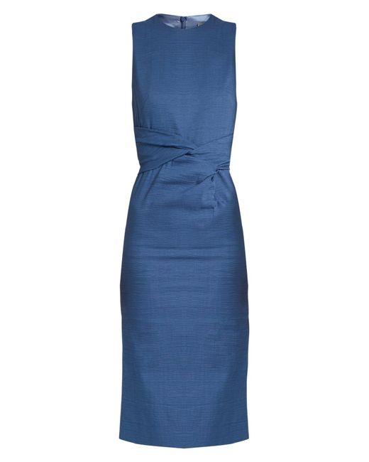 Sportmax - - Brunico Dress - Womens - Blue - Lyst