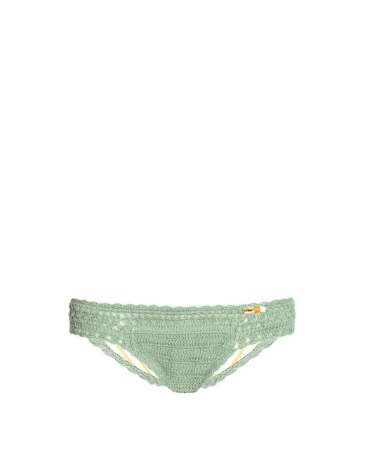 She Made Me | Green Malikah Mini Hipster Crochet Bikini Briefs | Lyst