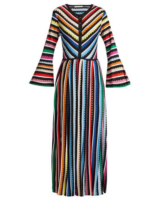 Mary Katrantzou - Blue Maya Knit Dress - Lyst