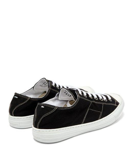 Stereotype canvas low-top trainers Maison Martin Margiela gTENWw3a