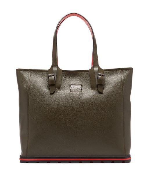 64e000b6b1e2 Christian Louboutin - Multicolor Kabiker Leather Tote Bag for Men - Lyst ...