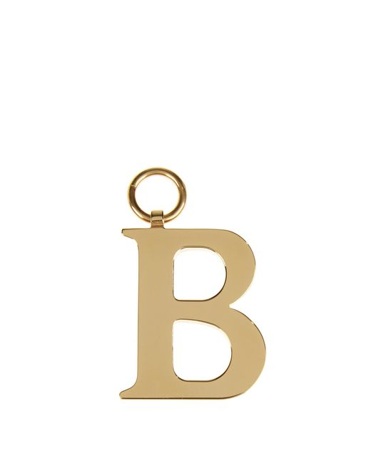 Chaos   Metallic B Gold-plated Charm for Men   Lyst