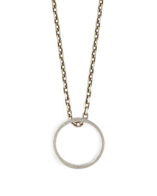 Maison Margiela - Metallic Three In One Necklace for Men - Lyst