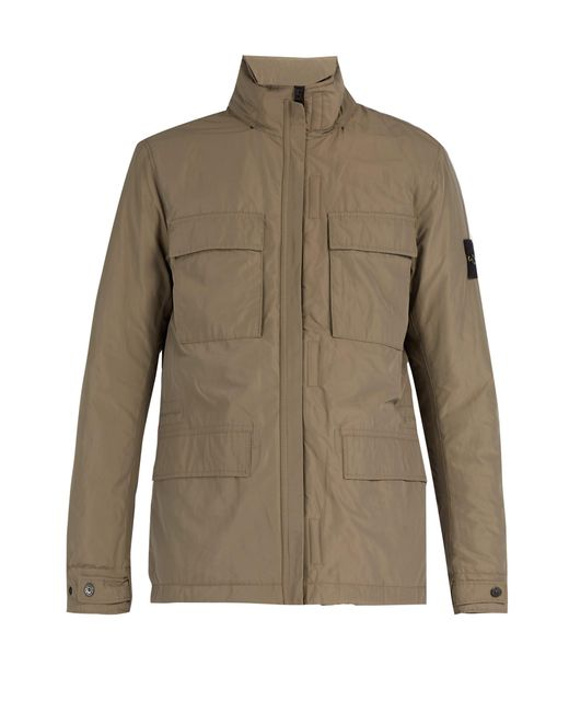 Stone Island - Multicolor High Neck Technical Jacket for Men - Lyst