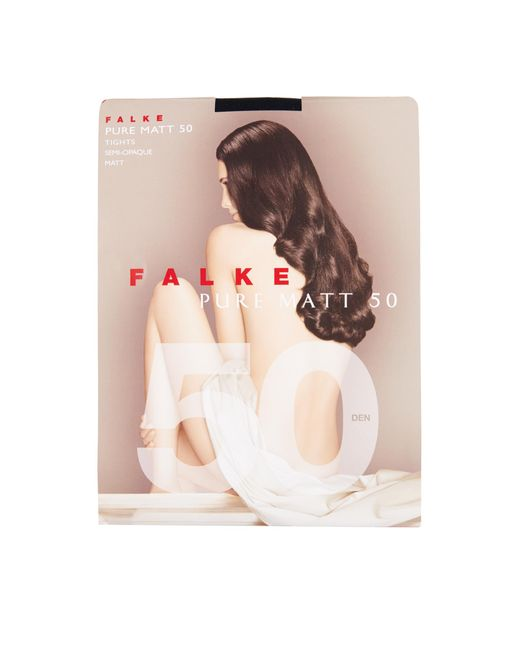 Falke | Blue Pure Matte 50 Denier Tights | Lyst