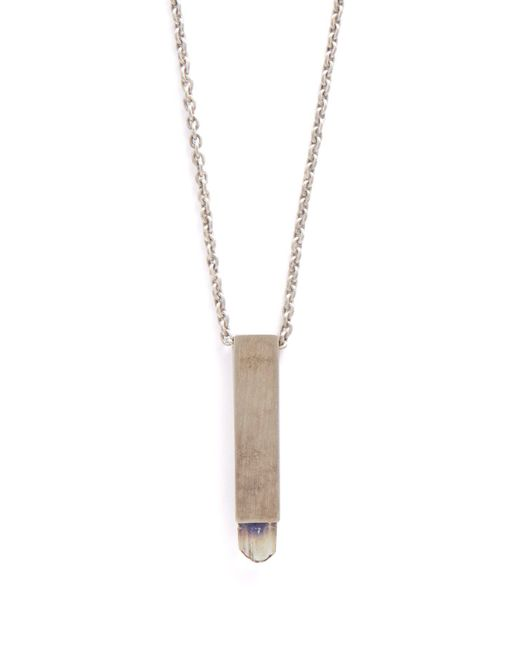 Parts Of 4 - Metallic Talisman Sterling Silver Amulet Necklace for Men - Lyst