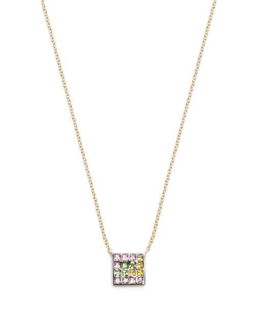 Ileana Makri | Metallic Sapphire, Amethyst, Tsavorite & Gold Necklace | Lyst