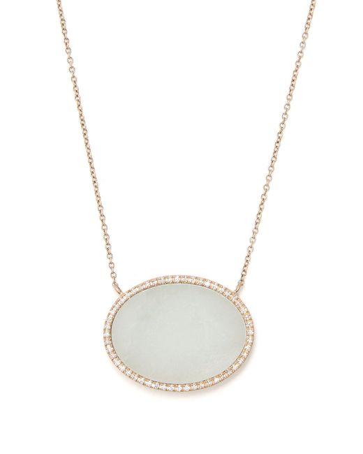 Monique Péan - Metallic Diamond, Jade & White-gold Necklace - Lyst