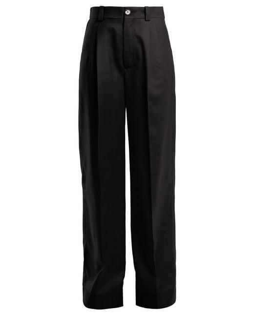 Kwaidan Editions - Black Annik Wide Leg Trousers - Lyst