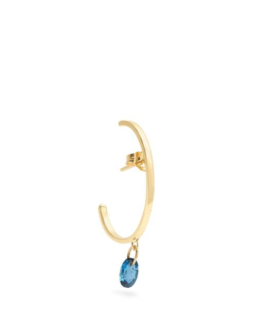 Loren Stewart - Metallic Topaz & Yellow-gold Earring - Lyst