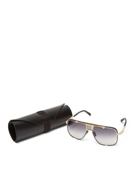 83142bac7b41 ... Dita Eyewear - Black Mach Five Aviator Sunglasses for Men - Lyst ...