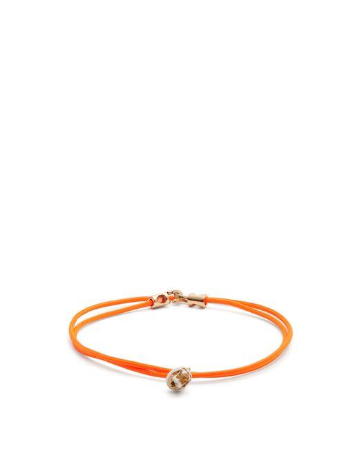 Luis Morais - Multicolor Double Wrap Skull Bracelet for Men - Lyst