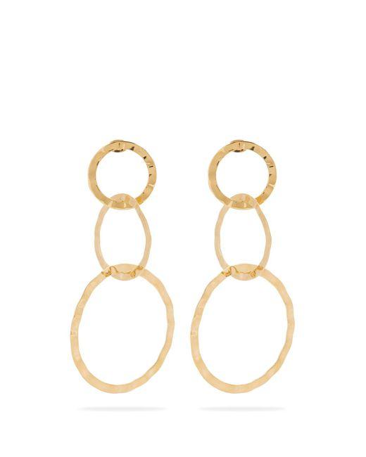 Isabel Marant | Metallic Africa Multi-linked Earrings | Lyst