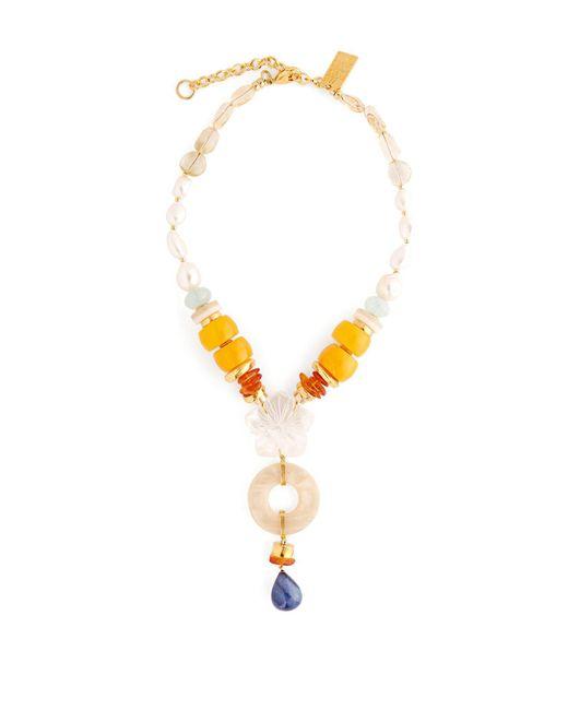Lizzie Fortunato - Metallic Capri Ii Necklace - Lyst
