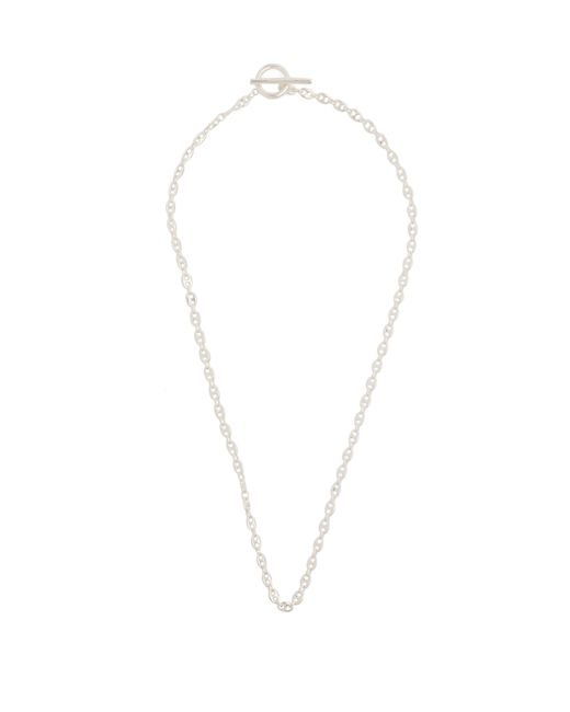 All_blues - Metallic Rauk Carved Silver Necklace for Men - Lyst