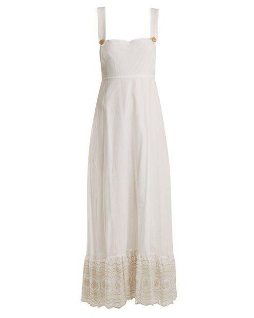 Spring Rainbow pinafore silk dress Athena Procopiou BOHMDmEm