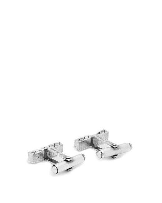 Bottega Veneta Gold and silver bar cufflinks XivoeyV