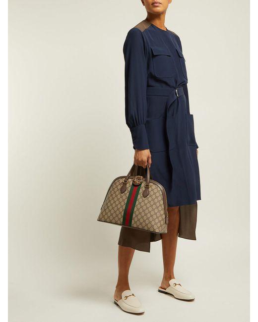 350f0871271f ... Gucci - Multicolor Ophidia Gg Supreme Tote Bag - Lyst ...