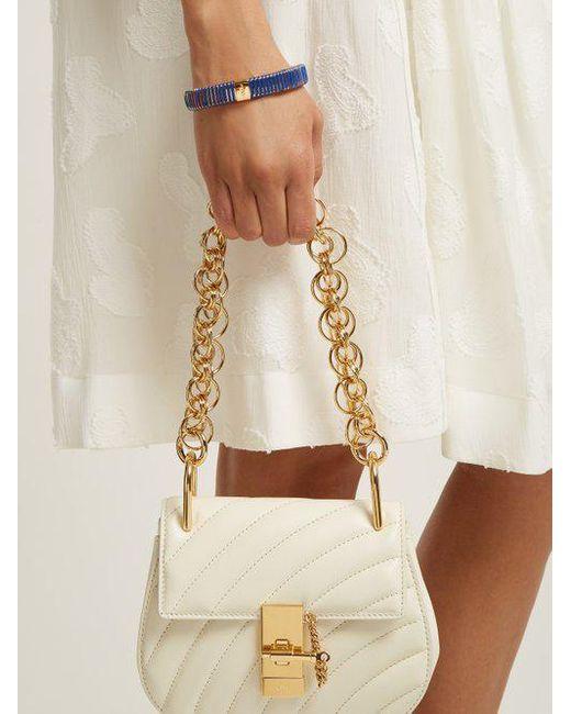 Bracelet En Émail Bande Extensible Chloé 49dISL