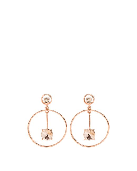Oscar de la Renta | Multicolor Crystal-embellished Drop Earrings | Lyst