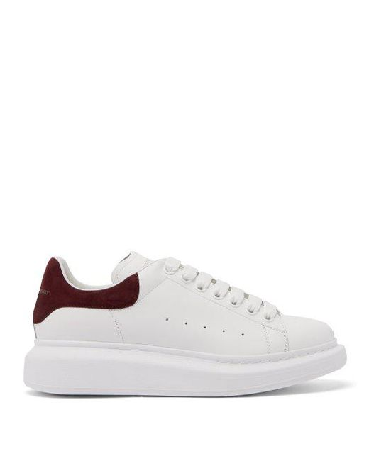 Alexander McQueen - Multicolor Raised-sole Low-top Leather Trainers - Lyst