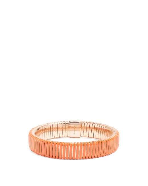 Chloé - Orange Stretch Band Enamel Bracelet - Lyst