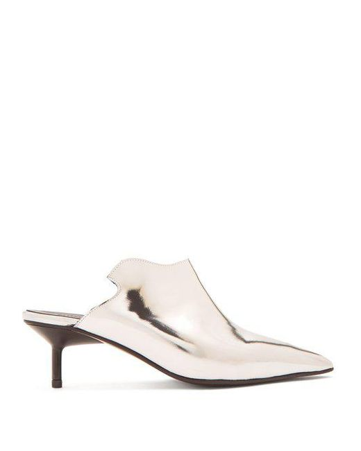 MARQUES'ALMEIDA Pointy Kitten Mules