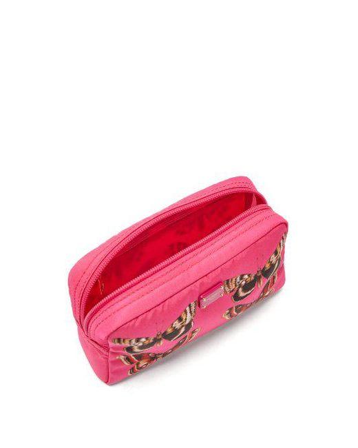 Butterfly-print zip-around cosmetics bag Dolce & Gabbana jQpL1fWk