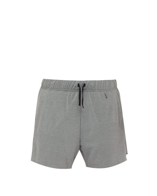 LNDR - Gray Short de course en jersey stretch for Men - Lyst