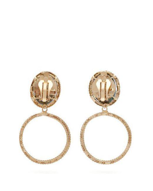 Rosantica Scarabeo drop earrings A1H0w