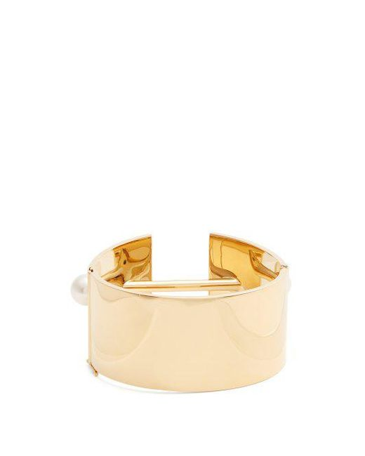 Chloé Darcey faux-pearl embellished cuff E3iTSrH5