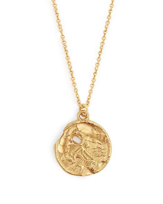 Alighieri - Metallic Aquarius Gold Plated Necklace - Lyst