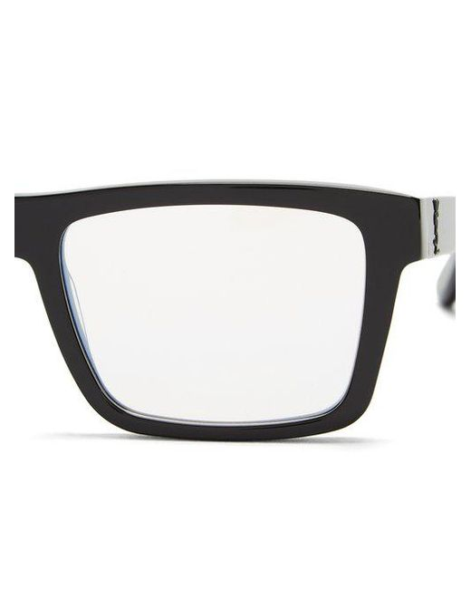 Monogram rectangle-frame glasses Saint Laurent 2Gkze