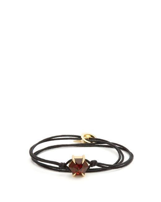 Ara Vartanian - Red X Kate Moss Garnet & Yellow-gold Bracelet - Lyst