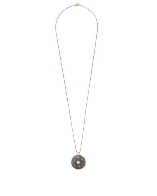Noor Fares | Blue Diamond, Pearl, Labradorite & Yellow-gold Necklace | Lyst