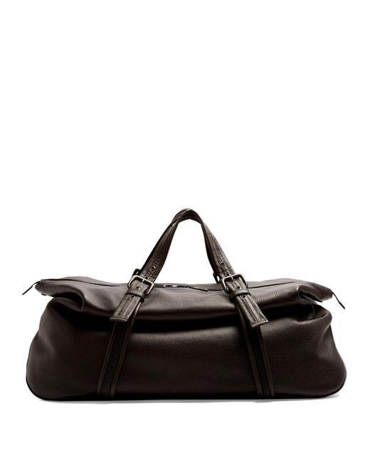Bottega Veneta | Brown Leather Holdall for Men | Lyst