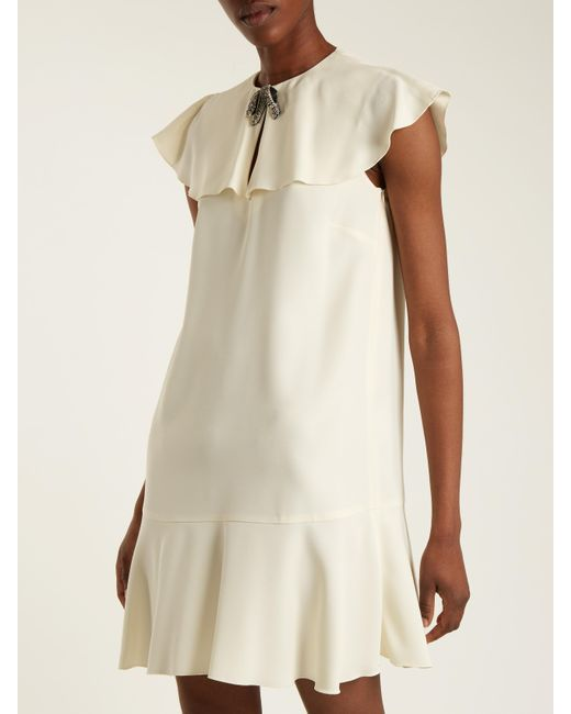 Bow-embellished asymmetric dress Valentino 7UOox4a