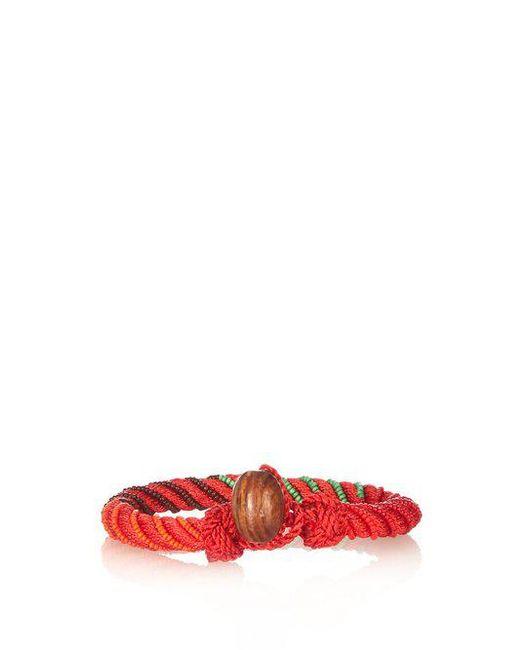 Aurelie Bidermann - Multicolor - Maya Bead Embellished Bracelet - Womens - Red Multi - Lyst
