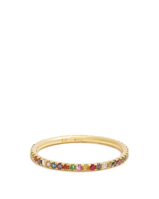 Ileana Makri | Metallic Multi-stone & Yelllow-gold Ring | Lyst
